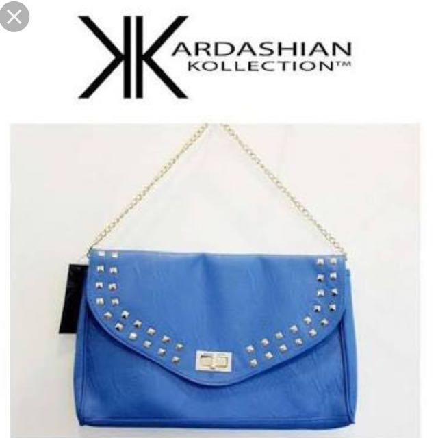 Blue KK clutch