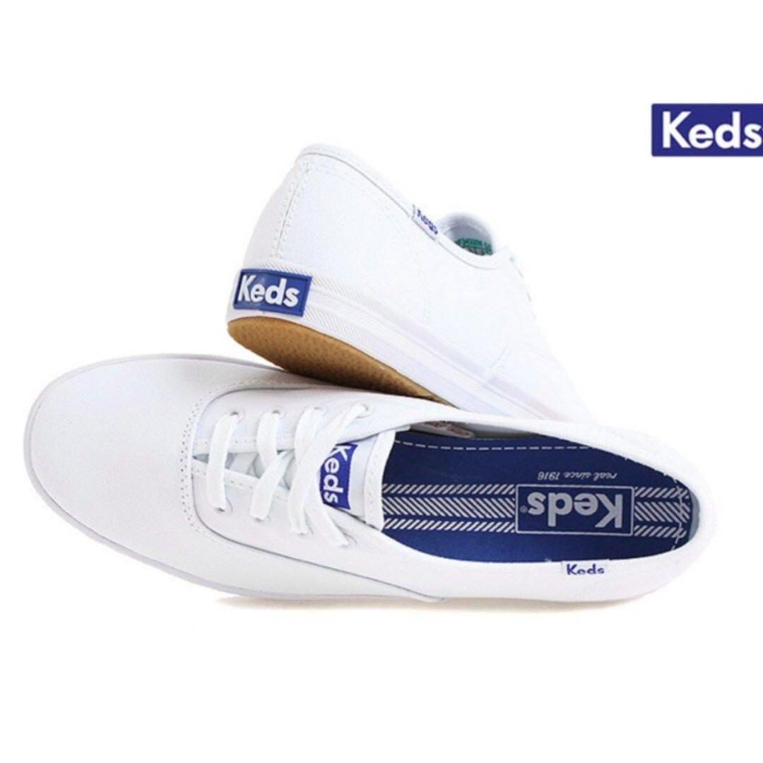 036e7f4fb733 BNIB Keds The Original Champion Sneakers (White)