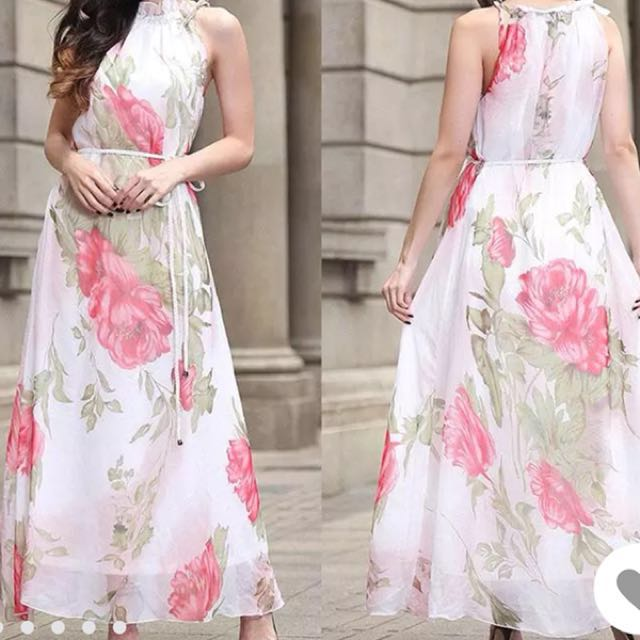 BRAND NEW floral dress, sz sm/med