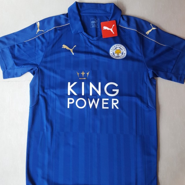 9d0955bfb Brand new instock Leicester City 16 17 Home Jersey Adult M Size ...