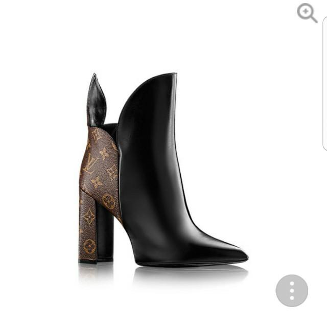 Brand New Louis Vuitton Rodeo Queen booties