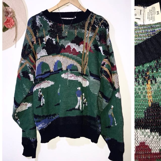 Branded Fashion Printed Sweater Pullover FC29
