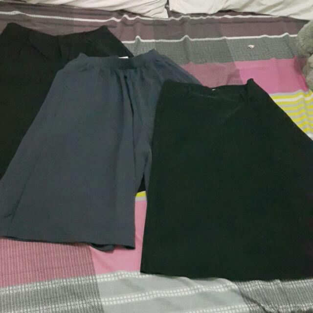 Bundle Of 3 - Culottes