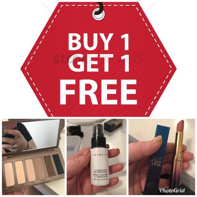 BUY 1 GET FREE!! ANY ITEMS