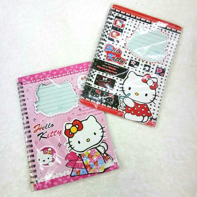 Buy 1 take 1 Hello Kitty Notebooks