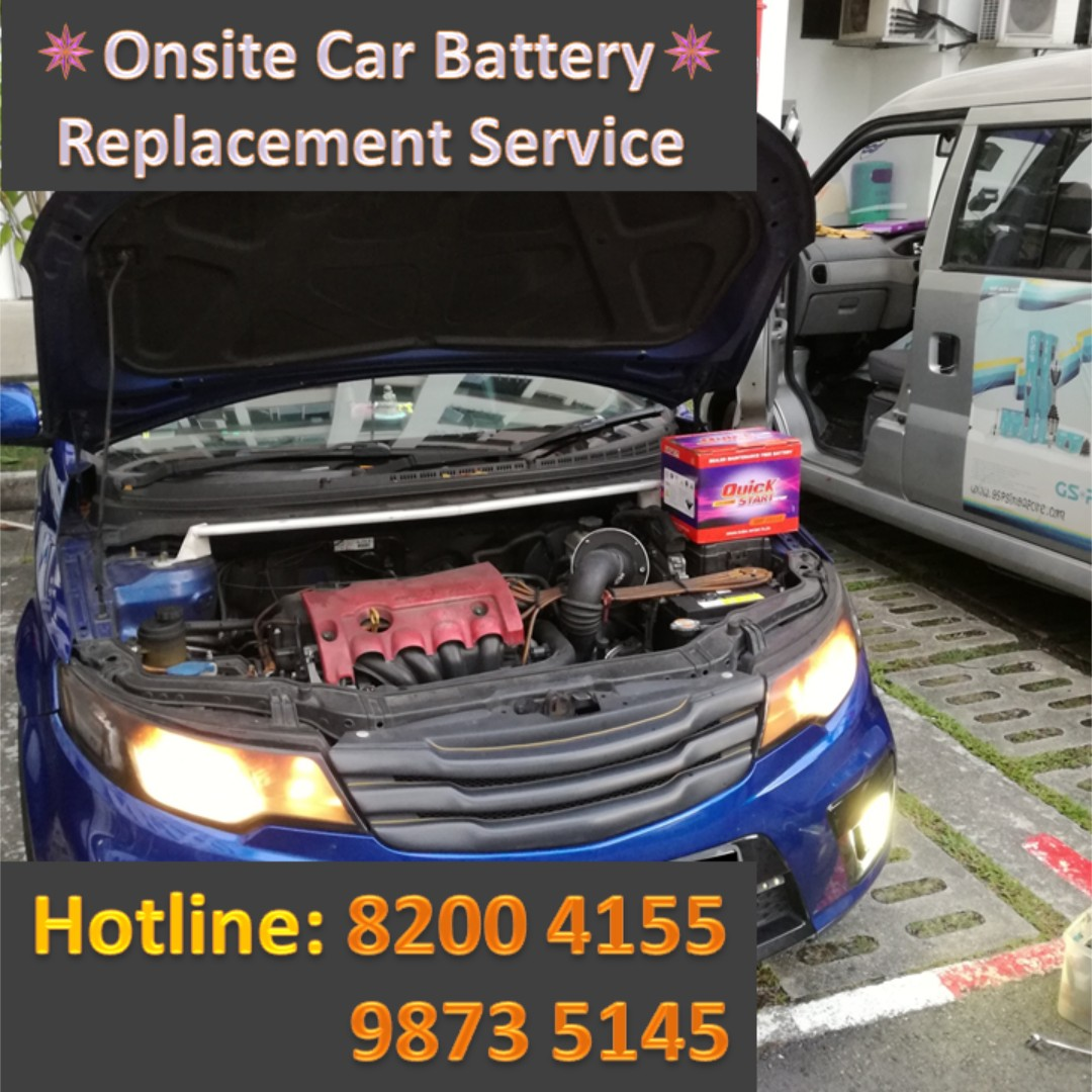 Car Battery On-site Recovery Service