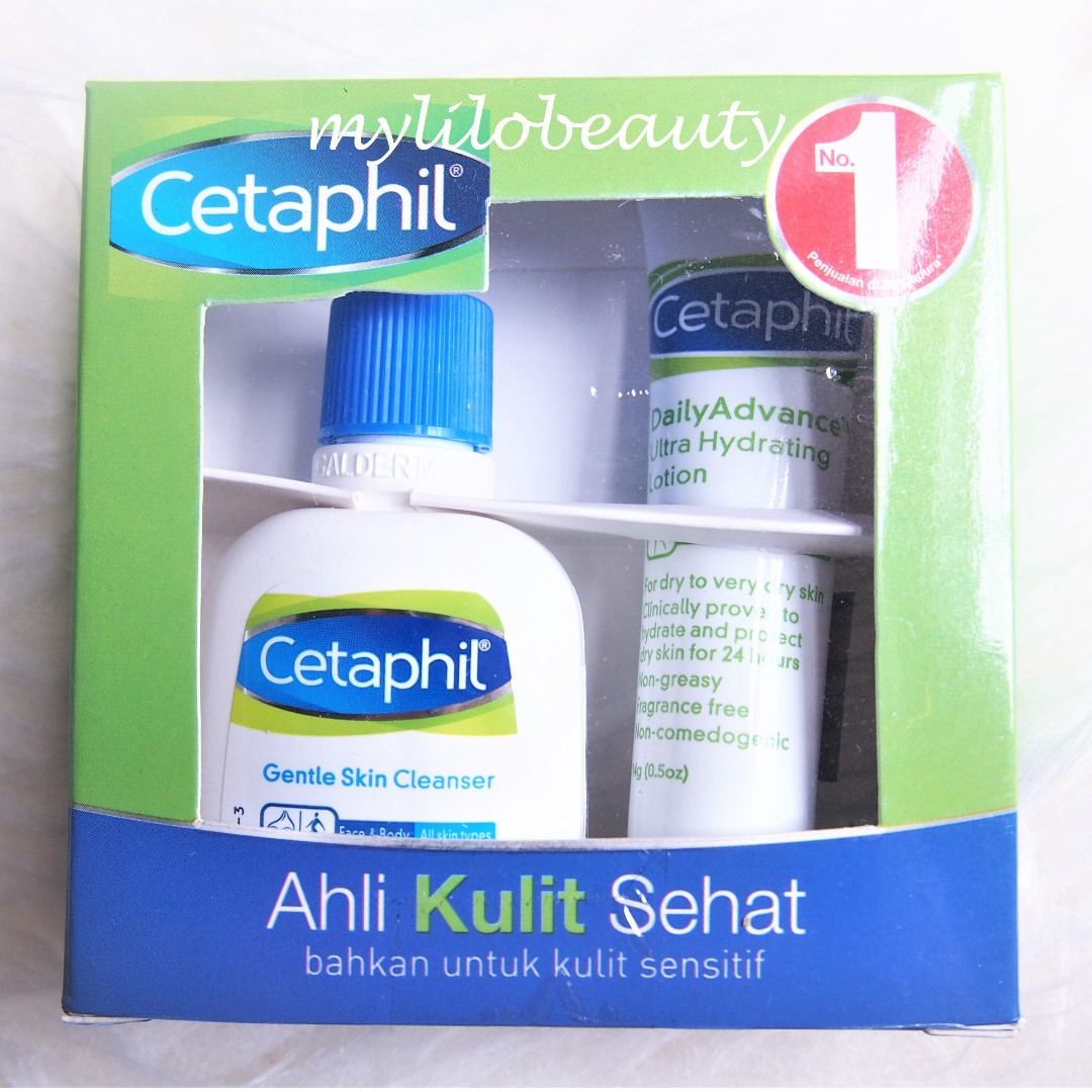Cetaphil Trial Kit (Gentle Skin Cleanser + Daily Advance Ultra Hydrating Lotion)