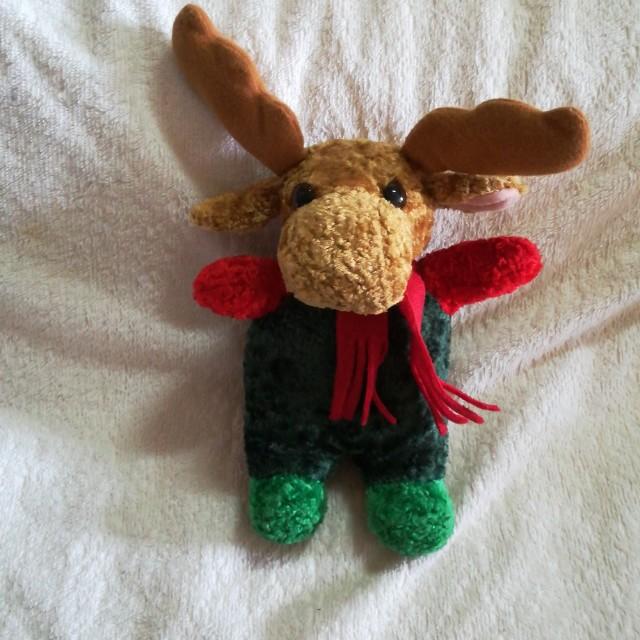 Christmas Musical Plush Reindeer