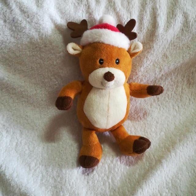 Christmas Musical Wishes Plush Reindeer