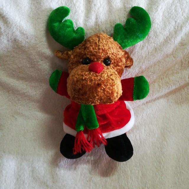 Christmas Plush Reindeer