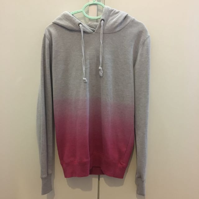 Cotton on ombré hoodie