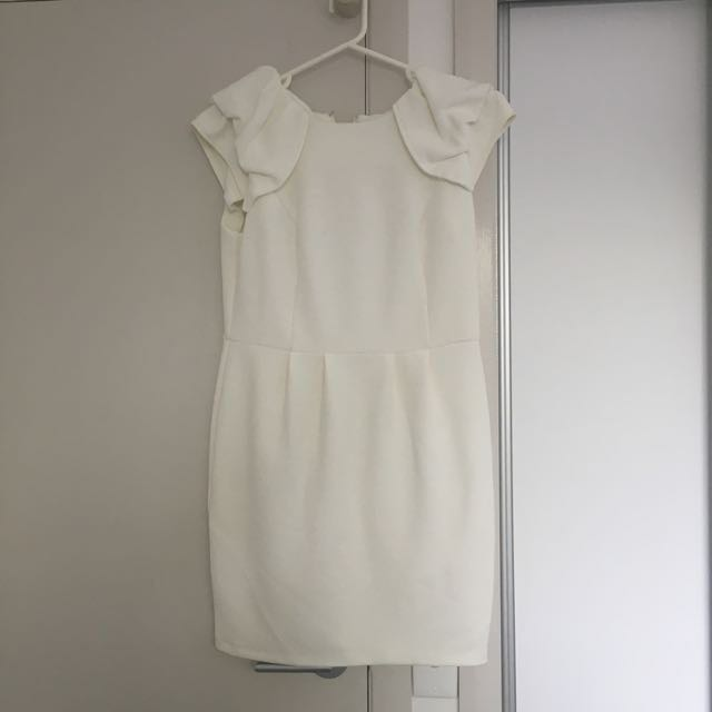 Cream Forever New Dress