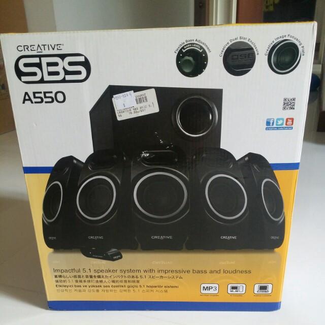 Creative SBS A550
