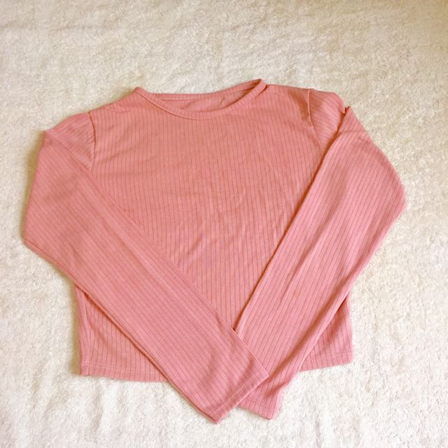 CROPPED TOP LONG SLEEVES