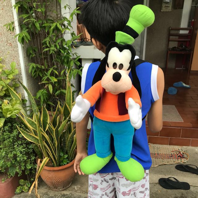 Cute Goofy Plushy Backpack