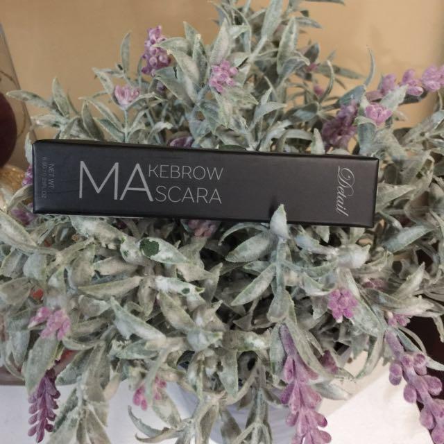 Detail Makebrow Brow Mascara