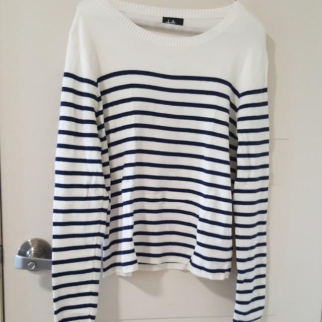 Dotti Stripes Sweater