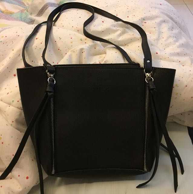 Doxology Black bag / mini tote