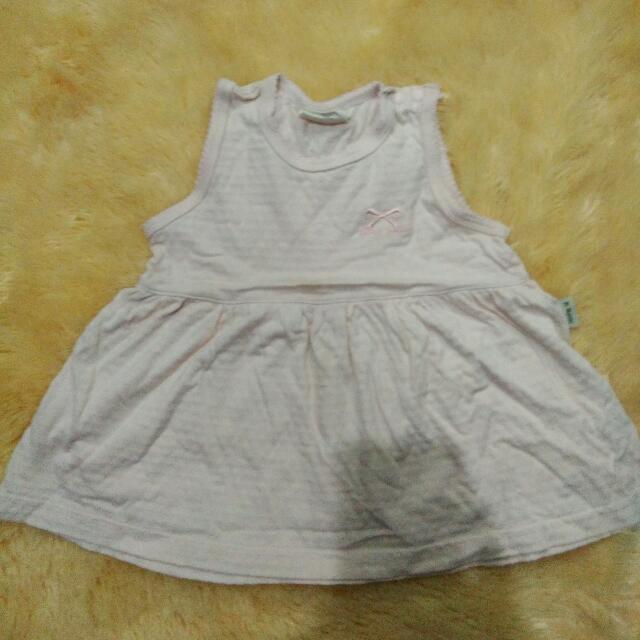 Dress Baby Size 6-9bulan