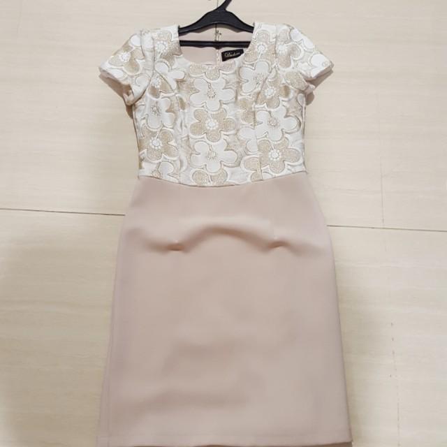 Duchess floral dress