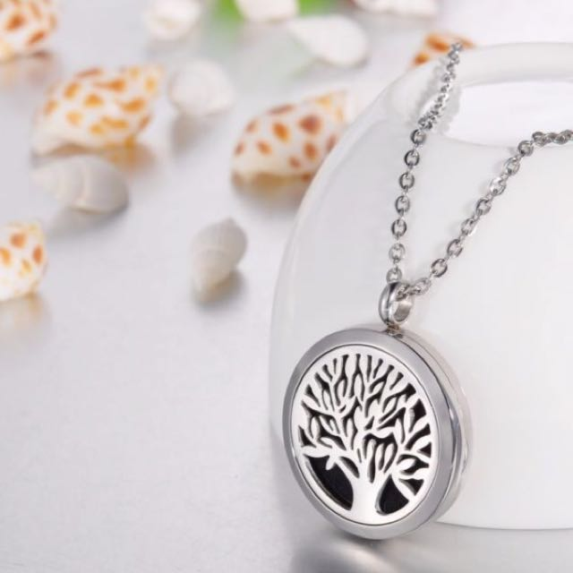 Essential Oil Necklace Stainless Steel