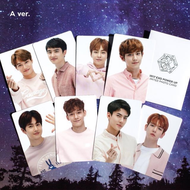 EXO Power Up Limited Photo Card