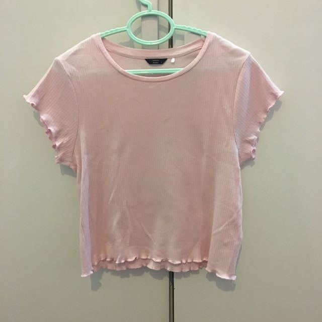Factorie frilled top