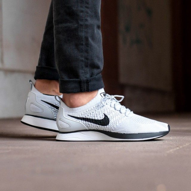 00f1998c79e FAST!!) Nike Air Zoom Mariah Flyknit Racer Pure Platinum