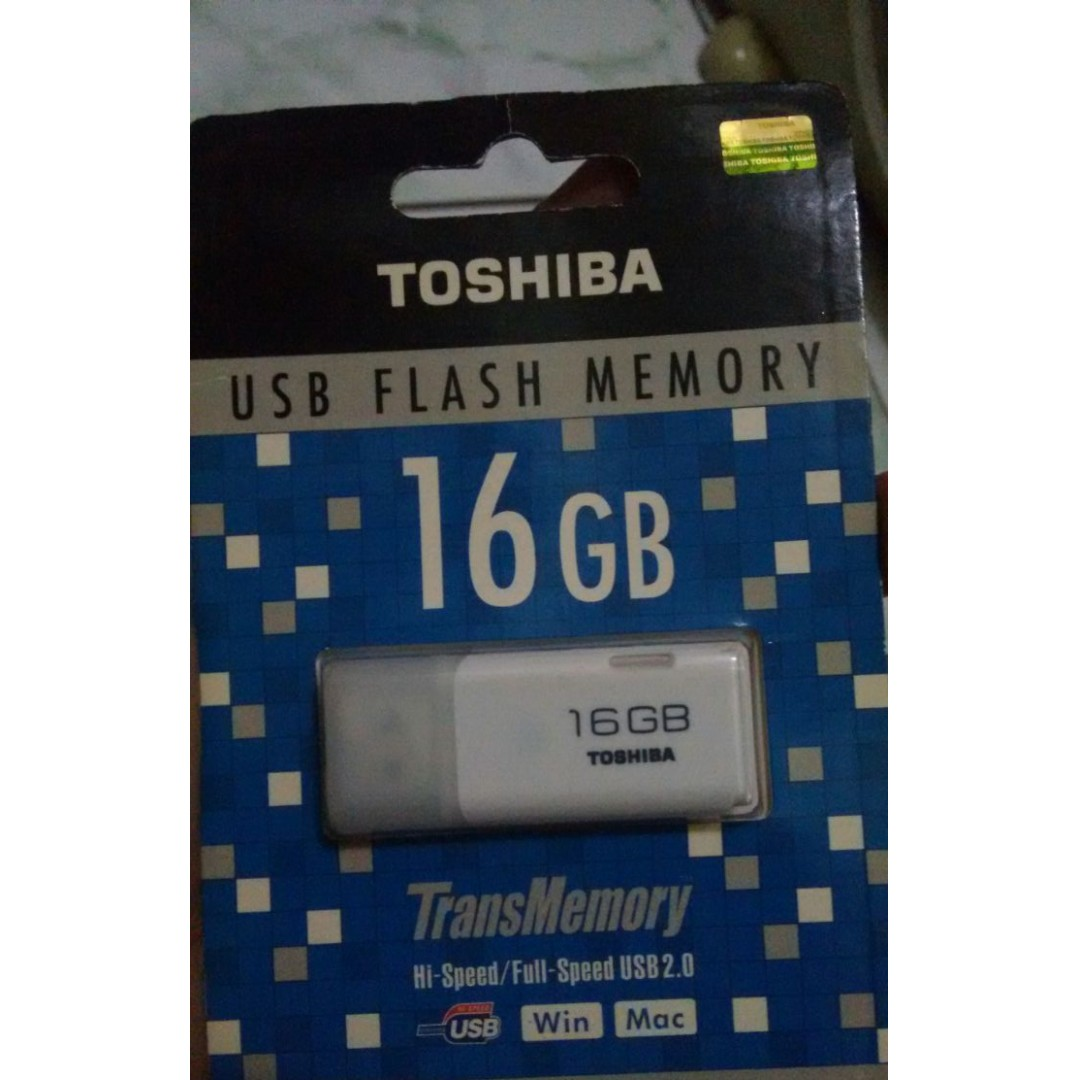 Flash Disk Toshiba 16gb Original 100%.