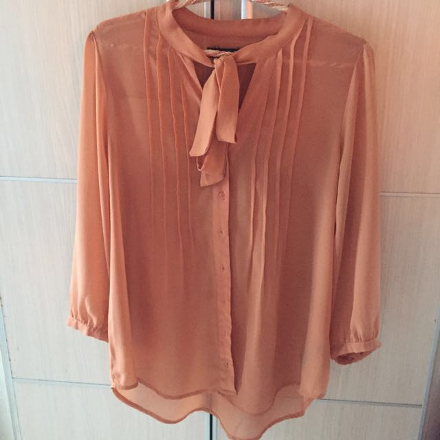 Forever 21 Brown Blouse