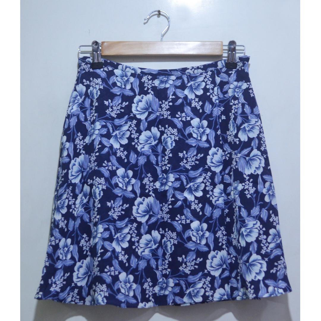 FORNARI A-line Floral Skirt