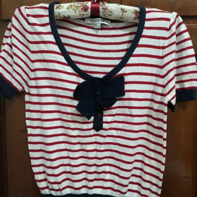 Forver 21 Knitted Blouse medium