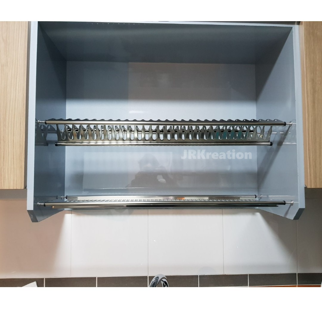 Kitchen Cabinet Stainless Steel Dish Rack Home Appliances On Carousell