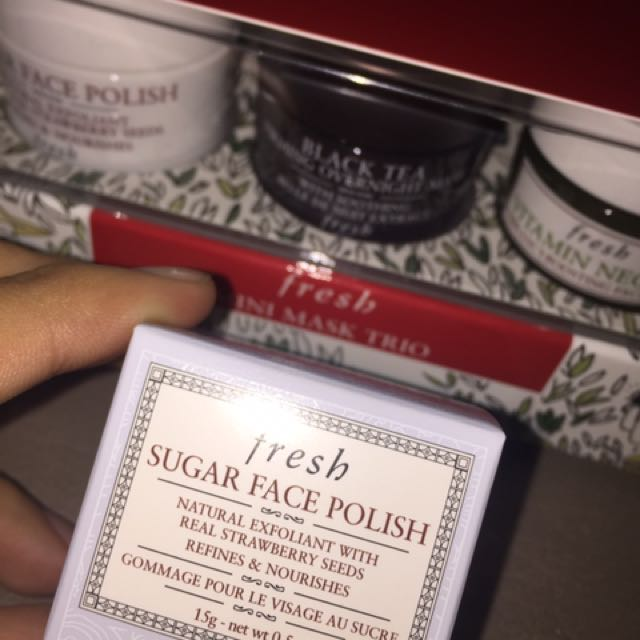 FRESH MASK FACE POLISH