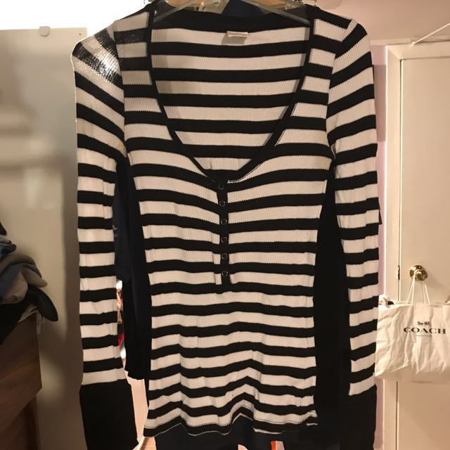 Garage Striped Top Size M For Women