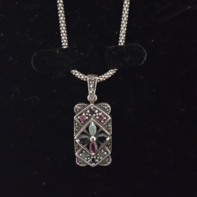 Genuine silver necklace from Egypt