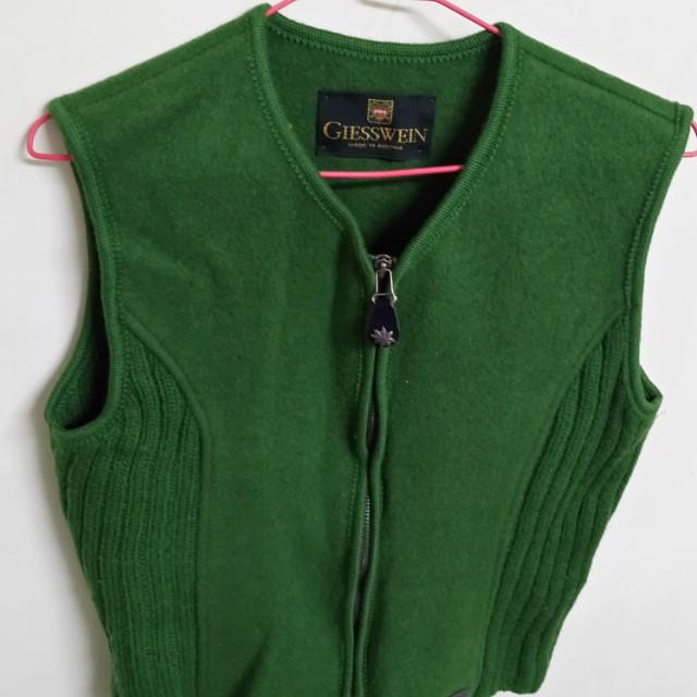GIESSWEIN奧地利傳統毛料背心