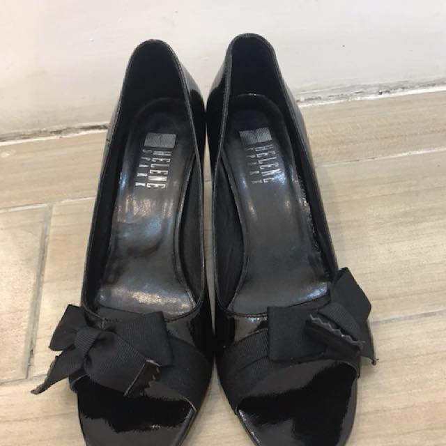 HELENE 黑魚口高跟鞋