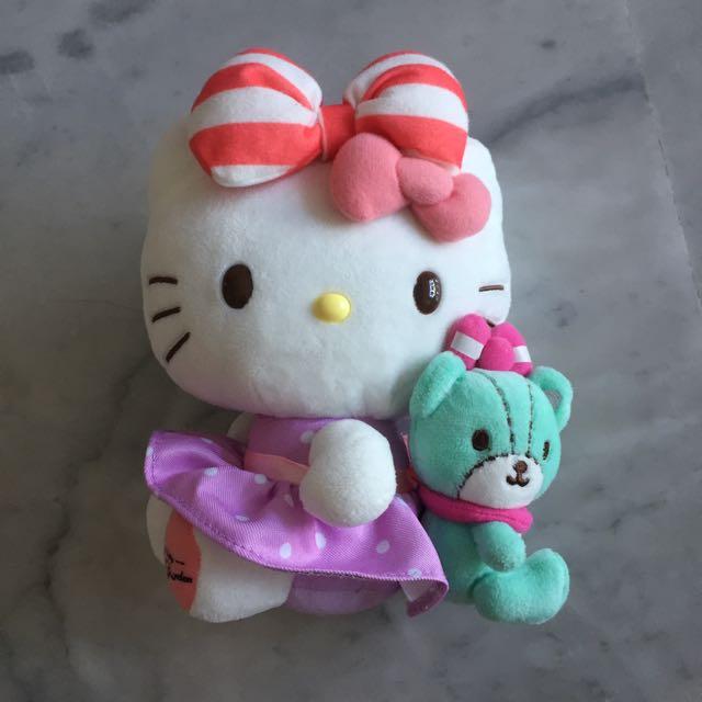 Hello Kitty Cafe Secret Garden Plush Stuffed Airport Lularoe LLR Tokidoki Jujube Jjb