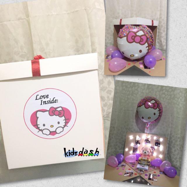Hello Kitty Theme Surprise Box Gift Present