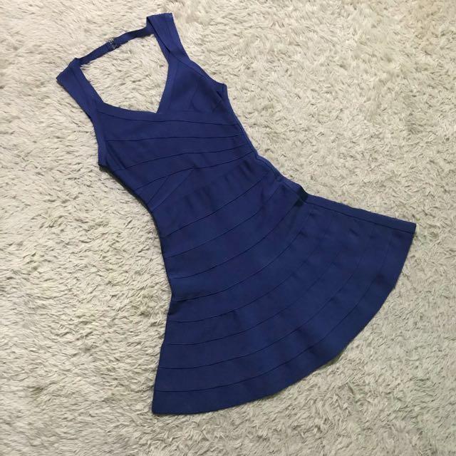 HERVE LEGER ins Bandage Dress