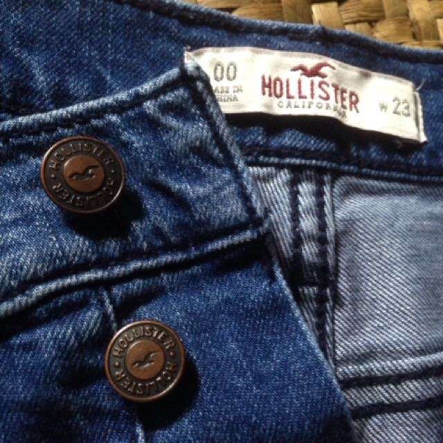 High wasted LEVIS and high wasted HOLLISTER from US