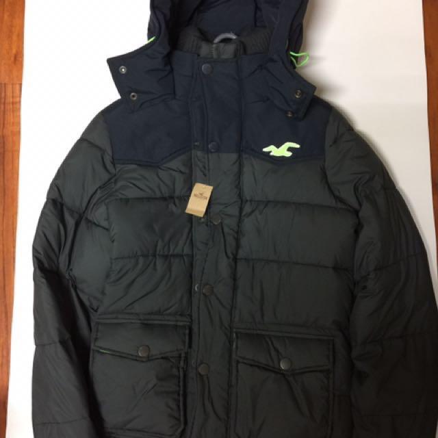 HOLLISTER保暖有型外套