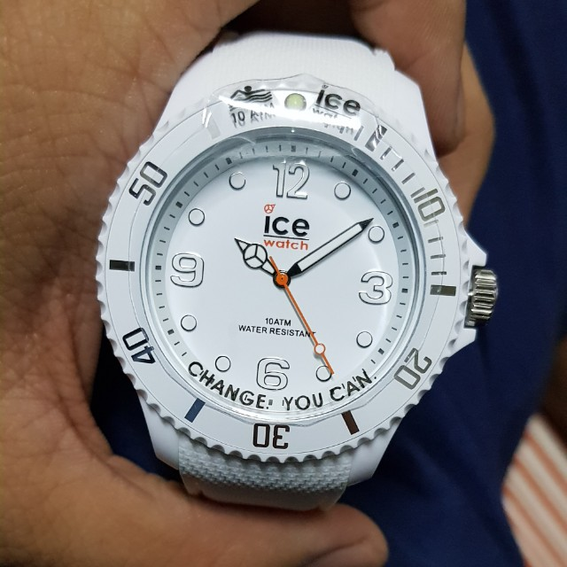 50dc8be73549d ICE Sixty Nine Watch - White - Large - 3H, Men's Fashion, Watches on  Carousell
