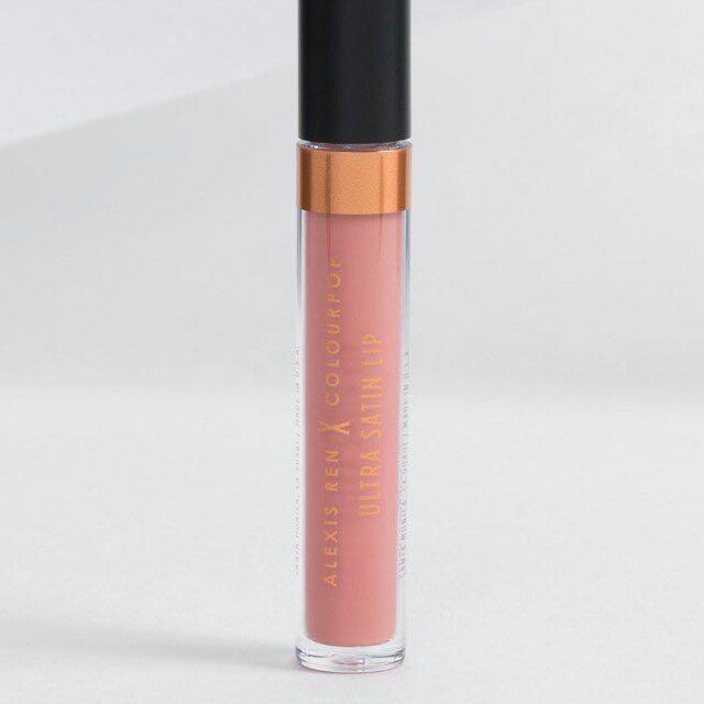 Instock Colourpop Alexis Ren Ultra Satin Lip Bare Necessities