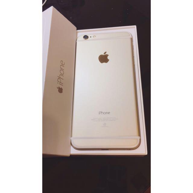Iphone6 Plus 128G Gold