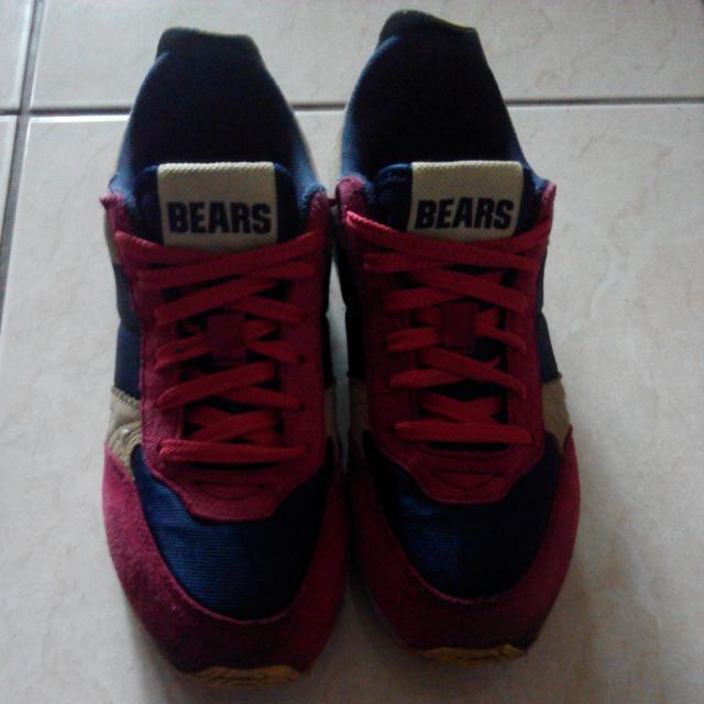 La new Bears 撞色運動鞋