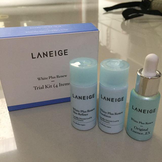 Laneige white plus renew trial kit