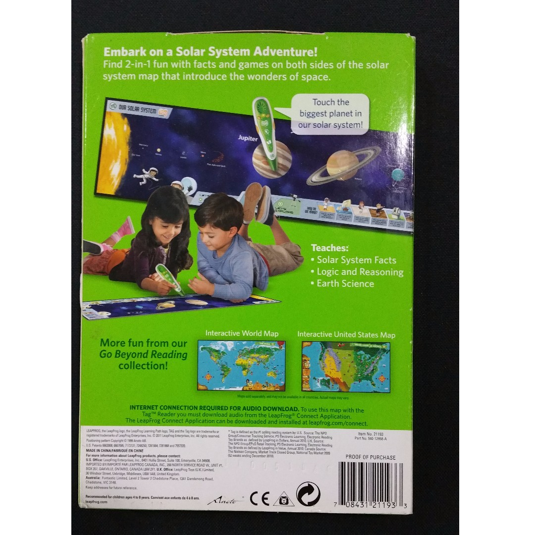 Leapfrog tag solar system adventure pack leap frog books leapfrog tag solar system adventure pack leap frog books stationery childrens books on carousell gumiabroncs Gallery