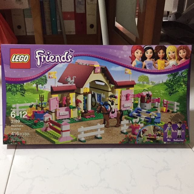 Lego Friends 3189 Heartlake Stables Toys Games On Carousell